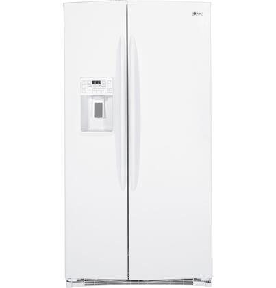 GE Profile PSHF6PGZWW Freestanding Side by Side Refrigerator