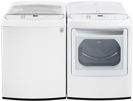 LG 754189 Washer and Dryer Combos