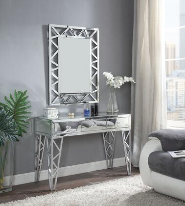 Acme Furniture Stephen Console Table and Mirror