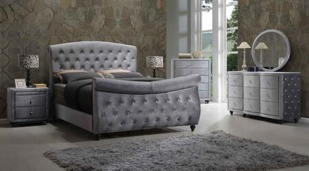 Meridian HUDSONSLEIGHKSET Hudson King Bedroom Sets
