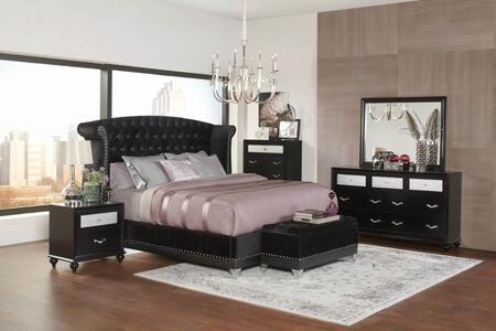 Tremendous Coaster Barzini 6 Piece Queen Size Bedroom Set Download Free Architecture Designs Photstoregrimeyleaguecom