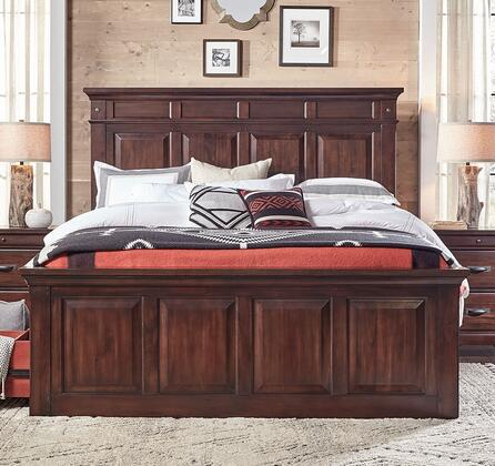 AAmerica KALRM5130 Kalispell Series  King Size Mantel Bed