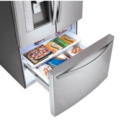 Lg Lfx31945st French Door Refrigerator In Stainless Steel