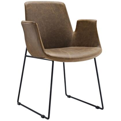Modway EEI-1806 Aloft Dining Leather Armchair