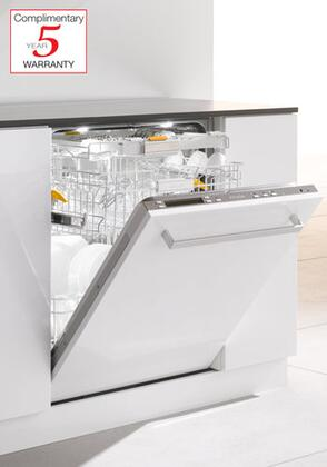"Miele G5975SCVI 24""  Built In Fully Integrated Dishwasher with 16 Place Settings Place Settingin Panel Ready"