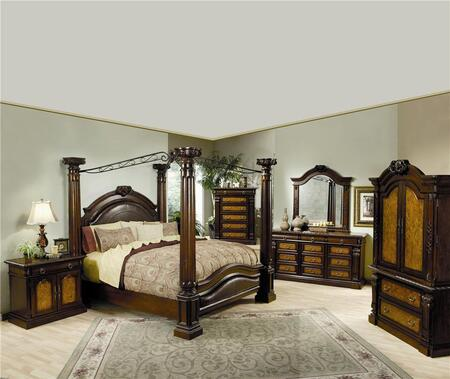 Coaster 201201QSET4 Montecito Queen Bedding Sets