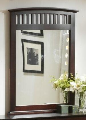 Yuan Tai JA1006M Jana Series Arched Portrait Dresser Mirror