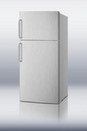 Summit FF1620WCSSIM  Refrigerator with 15.8 cu. ft. Capacity in Stainless Steel