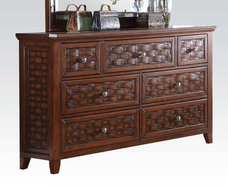 Acme Furniture 24785 Carmela Series Wood Dresser