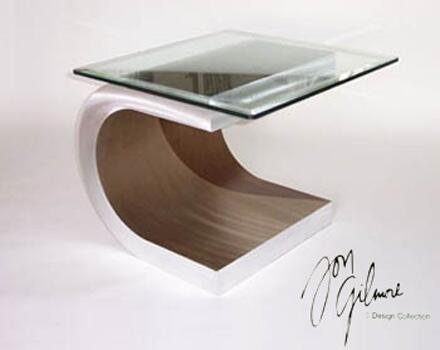 Nova ENT15RBA Meandering Series Contemporary  End Table