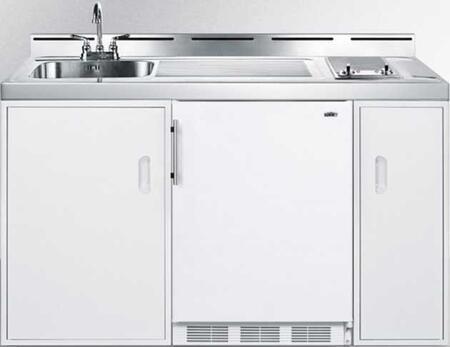 Summit C60ELGLASSKIT Compact Kitchens