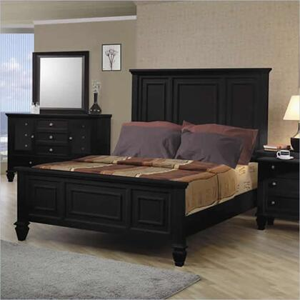 Coaster 201321Q Sandy Beach Series  Queen Size Panel Bed