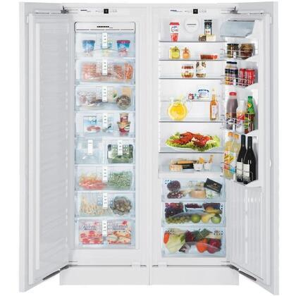 Liebherr SBS19H0 Built In Side by Side Refrigerator