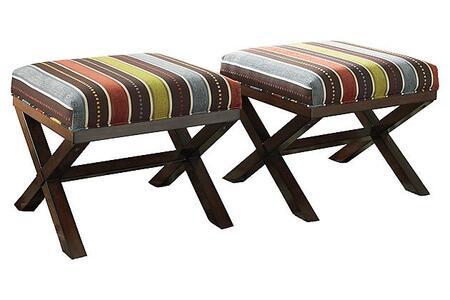 Signature Design by Ashley 2530113 Ballari Series Casual Fabric Ottoman