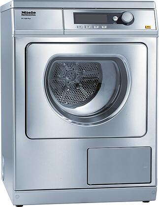 "Miele PT7138 24"" Commercial Vented Dryer With 15 Lbs. Load Capacity, 15 Standard Programs, Honeycomb Drum With Interior Light, And PerfectDry Electronic Moisture Monitoring:"