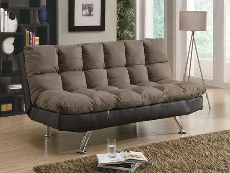 Coaster 300306  Convertible Microfiber Sofa