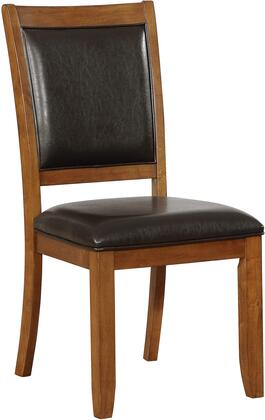 Coaster 102172 Nelms Series Contemporary Fabric Wood Frame Dining Room Chair