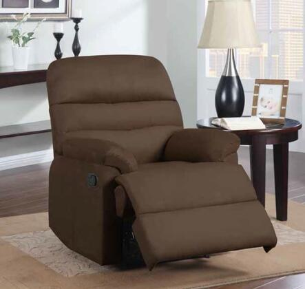 Global Furniture USA 91497 Rocker Recliner with Cushions, Microfiber Upholstery
