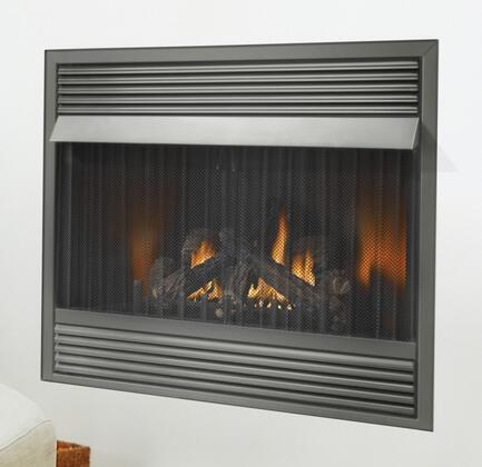 Napoleon GVF42-1 Vent Free Gas Fireplace With Maximum of 30,000 BTU's, 99.9% Steady State High Efficiency, 50% Flame/Heat Adjustment, Turns On/Off At The Flick Of A Switch  & 100% Safety Shut Off Feature