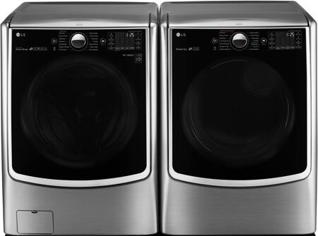LG WM5000HVADLEX5000VPAIR1 Washer and Dryer Combos