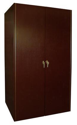 Vinotemp VINO-600E-3D 600 Bottle Double Door Wine Cabinet with Wine Mate Cooling,