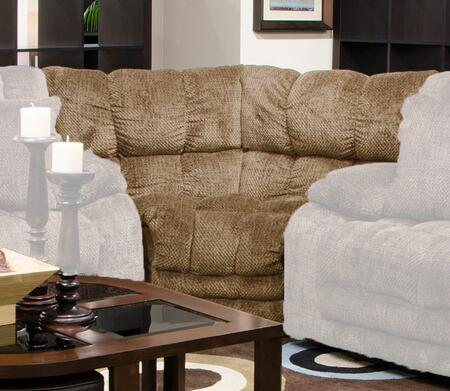 "Catnapper Branson Collection 2008- 73"" Wedge with Channeled Backs & Seats and Polyester Fabric Upholstery in"