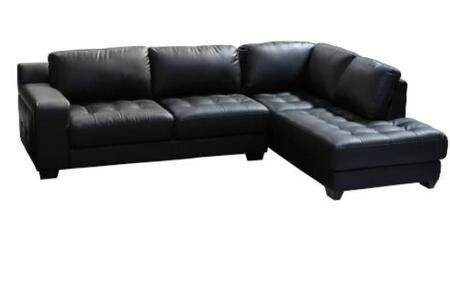 Diamond Sofa LAREDORF2PCSECTB LAREDO Series  Sofa