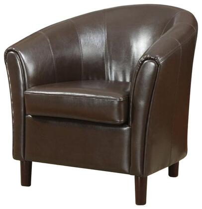 Coaster 900275 Armchair Bonded Leather Wood Frame Accent Chair