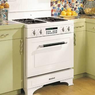 Heartland 353006LP  Dual Fuel Freestanding Range with Sealed Burner Cooktop, 4.4 cu. ft. Primary Oven Capacity, in Black