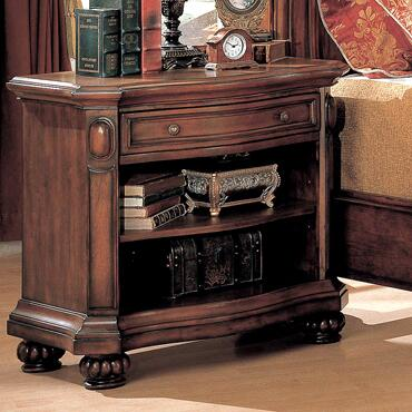 Yuan Tai WR9103N Wrigley Series Rectangular Wood Night Stand