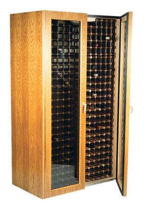 "Vinotemp VINO440TDGEO 38"" Wine Cooler"
