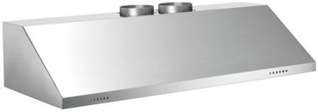 """Bertazzoni Professional KUXXPRO2X Series X"""" Wall-Mount Hood with 1200 CFM, Electronic Controls, Halogen Lights, Baffle Filters in Stainless Steel"""