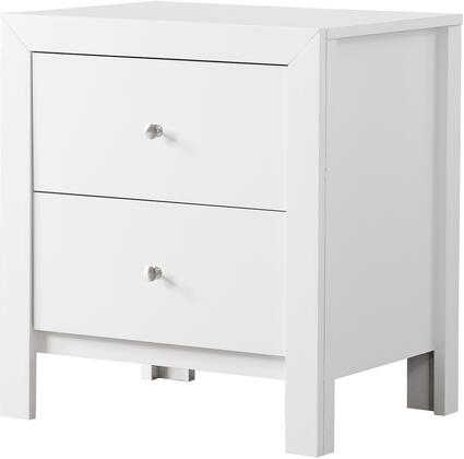 Glory Furniture G2490N  Rectangular Veneers Night Stand