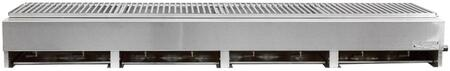 """Lazy Man A4TSX 65"""" Model A Series Gas Grill with 4 Stainless Steel Burners, 160000 BTU Total Heat Output, Drip Pan, and 304 Stainless Steel Construction, in Stainless Steel"""
