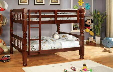 Furniture of America CM2527CHBED Carolina Series  Twin Size Bed