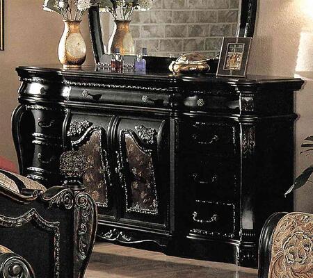 Yuan Tai CA5507DR Capelle Series Wood Dresser