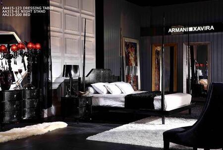 VIG Furniture AW213200K  King Size Poster Bed