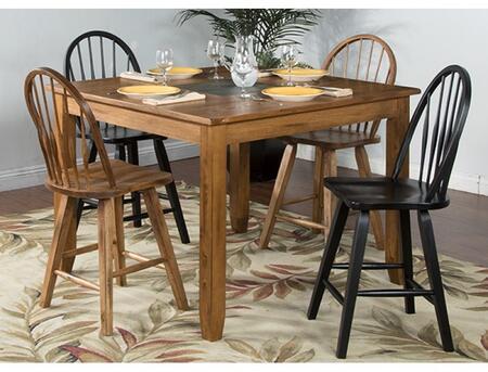 Sunny Designs 1366RODT2BC2ROC Sedona Dining Room Sets