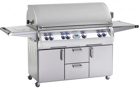 "FireMagic E1060S4L1N62 Freestanding 93"" Natural Gas Grill, in Stainless Steel"