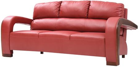 Glory Furniture G429S G400 Series  Faux Leather Sofa