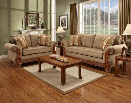 Chelsea Home Furniture 8400RMSL Verona IV Living Room Sets