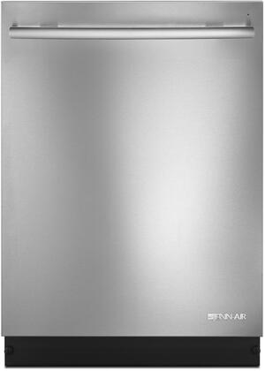 """Jenn-Air JDB9800CWT 24"""" Dishwasher with 40 dBA, TriFecta Wash System, Built In Water Softener, Precision Dry Option, SteamFinish Option, and Removable 3rd Level Rack with RollerGlide Design, in"""