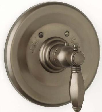 Rohl A4914LP Country Bath Collection Trim Only for Therm/Non-Volume Controlled Valve, Porcelain Lever:
