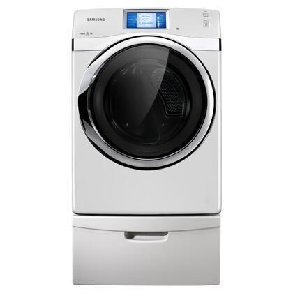 Samsung appliance dv457evgswr 457 laundry series white 7 5 for Black diamond motorized screen price