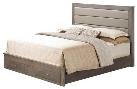 Glory Furniture G2405CFSB G2400 Series  Full Size Storage Bed