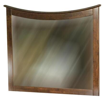 Atlantic Furniture C74004 Maiami Series Rectangular Landscape Wall Mirror