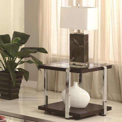 Coaster 701547 Contemporary Wood  End Table