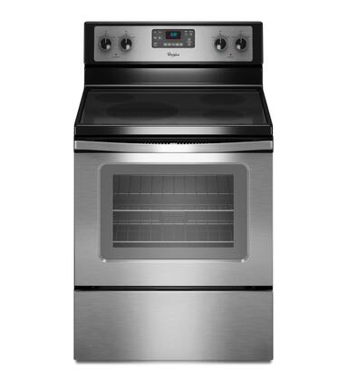 "Whirlpool WFE330W0AS 30"" Electric Freestanding 