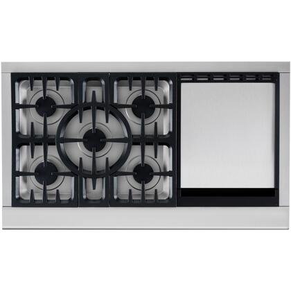 DCS CPU485GDN Professional Series Gas Sealed Burner Style Cooktop