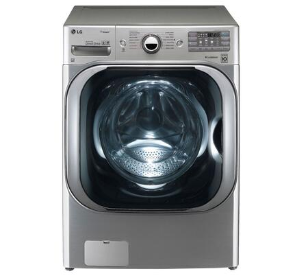 "LG WM8000HVA Front Load 5.2 cu. ft. Capacity Yes 29"" 14 Full Size Stainless Steel Yes Washer 